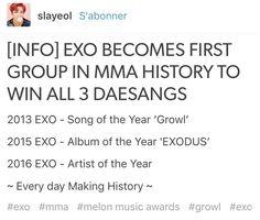 Congrats EXO ❤ #MMA2016