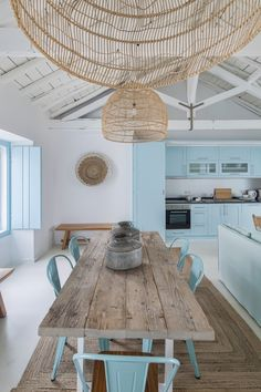 Ligia Casanova - Based in portugal Casaova specialised in residential, as well as some rural tourism and boutique ho - Beach Kitchen Decor, Beach House Kitchens, Beach House Decor, Home Kitchens, Home Decor, Kitchen Interior, Home Interior Design, Beach Hut Interior, Plans Architecture