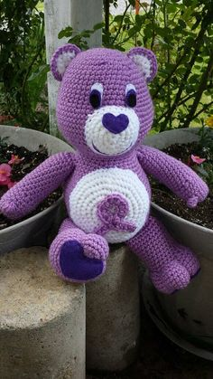 Check out this item in my Etsy shop https://www.etsy.com/listing/294964569/fibromyalgia-lupus-awarebear-awareness