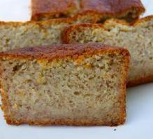 Recette - Gâteau à la banane (cake) - Notée 4.1/5 par les internautes
