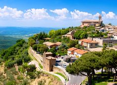 Montalcino Montalcino, Italy Italy Trip Ideas sky mountain village landmark tree City Village bird's eye view mountain mount scenery hill station plant tourist attraction hill landscape mountain range historic site