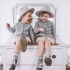 Twinning boys in our smoke Brogues! These have been so popular this season again - and so many customers saying that they've gifted last seasons pair to a friend because they're in perfect condition! Textured leather is so hard wearing!    #Regram via @www.instagram.com/p/BnGXBVzHJlx/ Kids Winter Fashion, Brogues, Hipster, Pairs, Smoke, Seasons, Popular, Children, Boys