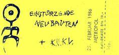 25-Feb-86  GE Berlin,Metropol-The Loft  [with K.U.K.L.]