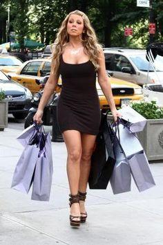 shopaholic at heart #mariah #carey