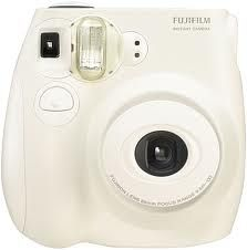 I Love my Fuji Instax Mini 7's Camera makes fun credit card size prints.