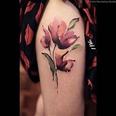 Sweet Tattoos For Women 2016 Floral Tattoo Design, Flower Tattoo Designs, Tattoo Designs For Women, Flower Tattoos, Tattoos For Women, Body Art Tattoos, Sleeve Tattoos, Cool Tattoos, Arm Tattoos