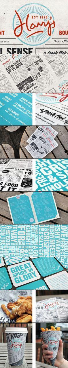 Harry's Restaurant Branding   Fivestar Branding – Design and Branding Agency & Inspiration Gallery