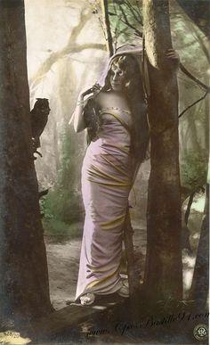Carte photographique 'Oranotypie' Reutlinger ,Paris