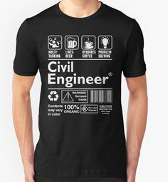25b8843b1f58 tshirts · Civil Engineer by classydesigns Civil Engineering Logo, Engineering  Humor, Funny Gifts, Civilization,