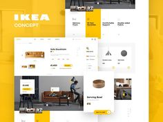 IKEA online experience redesigned – concept