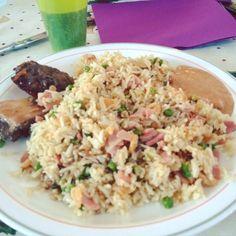 Riz cantonais  rougail dakatine = So Good ! #food #tasty #enjoylife #instafood #like #instagood #lareunion #runisland #reunion #reunionisland #reunionparadis #iledelareunion #974island #gotoreunion #creole by fenix_gwen
