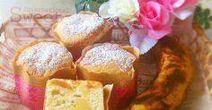 ♡レポ200人話題入りレシピ♡ 東京ばな奈のようなふんわりした生地の中にとろーりバナナクリームを入れた絶品シフォンケーキ