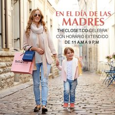 Hoy en el dia de las madres extendemos nuestro horario de 11 am-9 pm. Aprovecha para consentir a mamá con nuestros diseños exclusivos @theclosetco K7 # 54a-18 L-3 #Bogota #DiseñoIndependiente