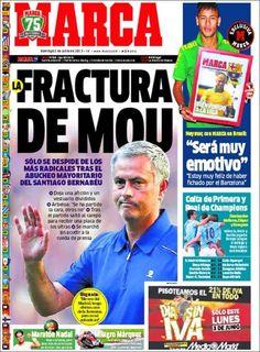 Los Titulares y Portadas de Noticias Destacadas Españolas del 2 de Junio de 2013 del Diario Deportivo MARCA ¿Que le parecio esta Portada de este Diario Español?