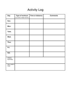 Does it Sink or Float Worksheet-Freebie! Ideal Weight Chart, Weight Charts, Workout Sheets, Workout Log, Exercise Activities, Fitness Activities, Fitness Journal, Fitness Tips, Workout Journal