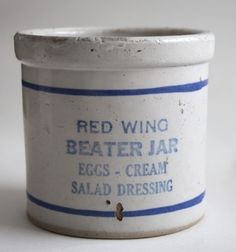 Red Wing Stoneware Beater Jar