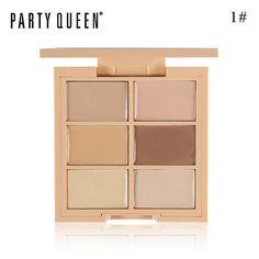 Party Queen Corrector Palette For Face Makeup Camouflage Contour FreeShipping Color Contour, Contour Kit, Contour Makeup, Face Makeup, Foundation Contouring, Face Contouring, Contouring And Highlighting, Corrector Palette, Contour Palette