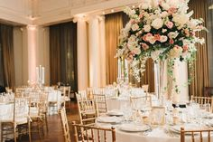 First-Class Wedding at the Yale Club of New York City