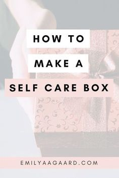A self care box is a concentrated space filled with things to help you relax and recharge, especially on those really rough days. self care Care Box, Wie Macht Man, Rough Day, Self Care Activities, Care Quotes, Self Care Routine, Love Tips, How To Find Out, How To Make