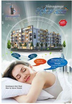 SHIVAGANGA SPLENDOUR Residential Projects in South Bangalore 2 & 3 BHK APARTMENT in Kanakapura Main Road.