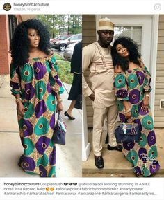 ouplecrush ❤❤❤ looking stunning in ANIKE dress Issa Record baby😍😘 modern african fashion that looks fab . Image may contain: 3 people African Dresses For Women, African Print Dresses, African Attire, African Wear, African Women, African Fashion Ankara, Latest African Fashion Dresses, African Print Fashion, Look Fashion