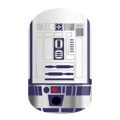 R2-D2 nailwraps from the Star Wars Collection by Jamberry