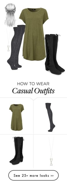 """Casual"" by rebeccawilson-480 on Polyvore featuring Topshop and Ichu"