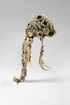 Papua New Guinea | Female ceremonial headdress | © musée du quai Branly, photo Claude Germain