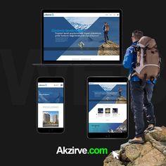 Uluslararası yatırım grubu Akzirve Gayrimenkul ve Yatırım'ın kurumsal Web Sitesi Zadaca imzasıyla yayında. www.akzirve.com