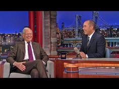 Watch Jerry Seinfeld Perform For The First Time On 'Letterman'