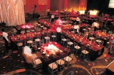 Spotlight Awards for Special Event Tables design and décor by  J Patrick Designs Social Events, Corporate Events, Table Design, Event Decor, Decoration, Tables, Decor, Mesas, Corporate Events Decor