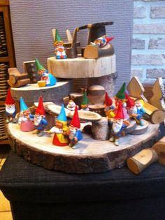 Block Area, Small World Play, Gnomes, Gingerbread, Fairy, Halloween, Kids, Crafts, Toddlers
