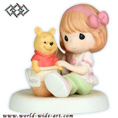 Winnie the Pooh - Hunny You Are Always Full of Sweet Surprises - Precious Moments - World-Wide-Art.com