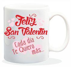 "Taza baggy  "" FELIZ SAN VALENTIN "" http://www.worldmagic.es/tienda/164-baggy"