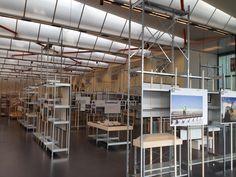 Kunsthal Rotterdam project met GS-3 legbordstellingen