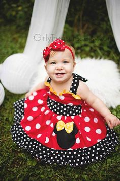 25% OFF Red Minnie Mouse Bow on Headband. Polka Dots Headband. Baby Headband. Infant Headband. Girl Headband. Photo Prop.