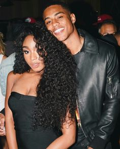 Normani and Keith Powers