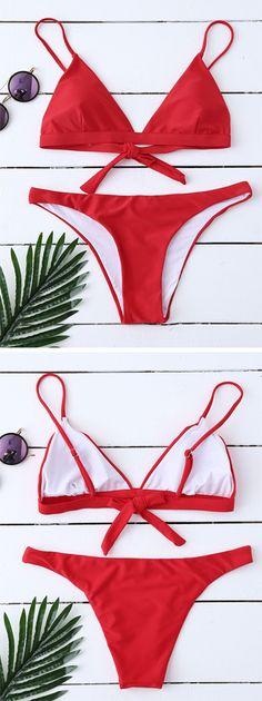 Life Should Taste As Good As Off this bikini. Swimwear 2017:Zaful,Bikinis,Micro bikini,High waisted bikini,Halter bikini,Crochet bikini,One-pieces,Tankini set,Cover ups,to find different swimwear(bathing suit,swimsuits) ideas @zaful Extra 10% OFF Code:ZF2017