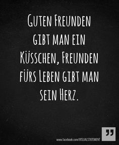 Der Unterschied zwischen guten Freunden und Freunde fürs Leben - VictorPontes.de