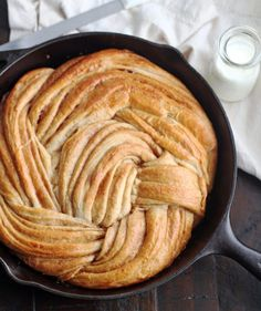 This Cinnamon Swirl Bread is reminiscent of cinnamon buns. Tender, slightly sweet and absolutely amazing with golden swirls of cinnamon throughout. - yep = make again Best Bread Recipe, Bread Recipes, Cooking Recipes, Brunch Recipes, Cooking Bread, Bread Baking, Cooking Games, Cooking Chips, Oven Cooking