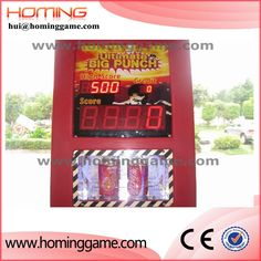 Newest Punch Bag Boxing Amusement Game Machine /  China boxing game machine hui@hominggame.com Size:1400×1300×2150MM Net weight:155KGS Power:180W Voltage:220V Simple packing size:600 X 1300 X 2250MM Wooden frame packing size:640 X 1320 X 2260MM Type:boxing game machine,ultimate big punch game machine, Boxing Games, Boxing Game Machine, China boxing game machine, punching game machine, used punching bag arcade machine for sale,Coin Operated Arcade Machines