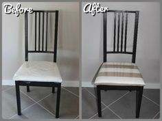 Cover Chair makeover - DIY