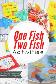 Discover fifteen hands-on One Fish Two Fish printables and. Informations About One Fish Two Fish P Educational Activities For Preschoolers, Dr Seuss Activities, Fish Activities, Hands On Activities, Infant Activities, Preschool Activities, Red Fish Blue Fish, One Fish Two Fish, Dr Seuss Week