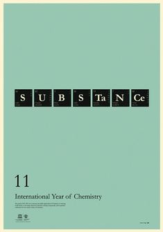 international year of chemistry 2011 posters.