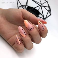2019 is Also Very Fashionable Nail Polish Designs and Shapes 2019 is Also Very Fashionable Nail Polish Designs and ShapesBy Posted on July nails are very nice but ver Hair And Nails, My Nails, Nail Manicure, Pedicure, Minimalist Nails, Fire Nails, Best Acrylic Nails, Nail Polish Designs, Nails Design