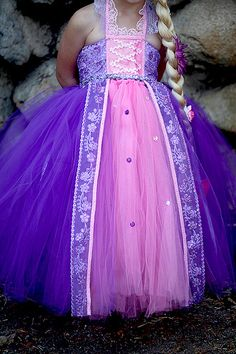 Items similar to Rapunzel Tutu dress- Rapunzel tulle dress- Rapunzel dress- Rapunzel costume on Etsy Rapunzel Costume, Rapunzel Dress, Costume Dress, Girls Tutu Dresses, Tutus For Girls, Little Girl Dresses, Princess Tutu Dresses, Princesa Tutu, Fairy Dress