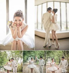 So in love with this adorable chic bridal look!