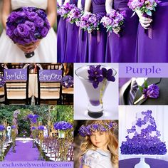 Purple Wedding Color Combination Options Pinterest Colors Colour Combinations And Exclusively Weddings