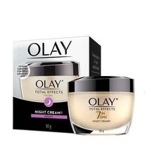 Olay Total Effects 7 in One Anti-ageing Night Cream : Best Night Cream, Anti Aging Night Cream, How To Apply Lipstick, How To Apply Makeup, Miracle Eye Cream, Makeup Jobs, Skin Firming, Olay