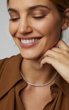 4532d1a3b Anita Ko Large Hepburn Choker | Trunk Show Moda Operandi Round Diamonds,  Fine Jewelry,